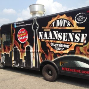 Full Vehicle Wrap for Foodtruck