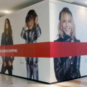 Custom Printed Barricade Wall Graphics