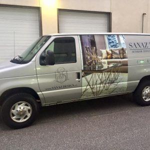 Van Wrap with Graphics