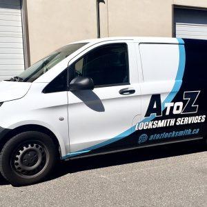 AtoZ – Van Wrap