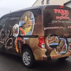 Delivery Van Full Wrap