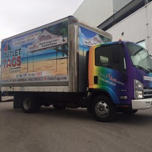 Truck Wrap and Graphics
