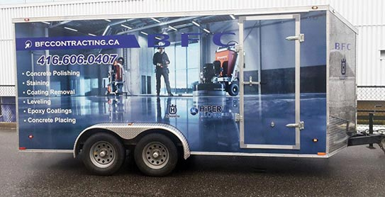 Truck Amp Trailer Wraps Toronto Scarborough North York